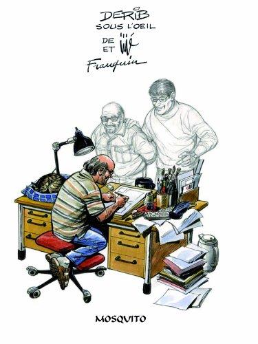 9782352830542: Monographies derib sous le signe de jije et franquin