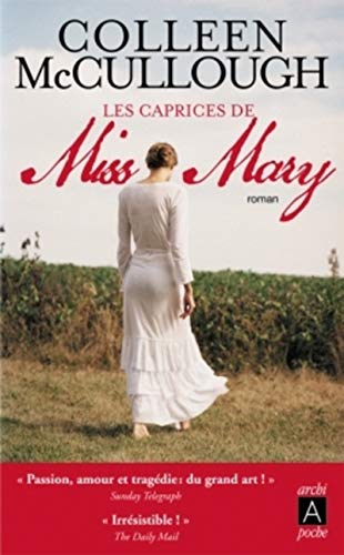 9782352872184: Les caprices de Miss Mary (French Edition)