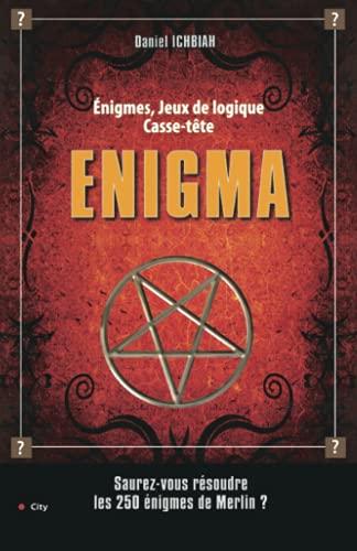 9782352881018: Enigma : 250 Enigmes, jeux de logique, casse-tête