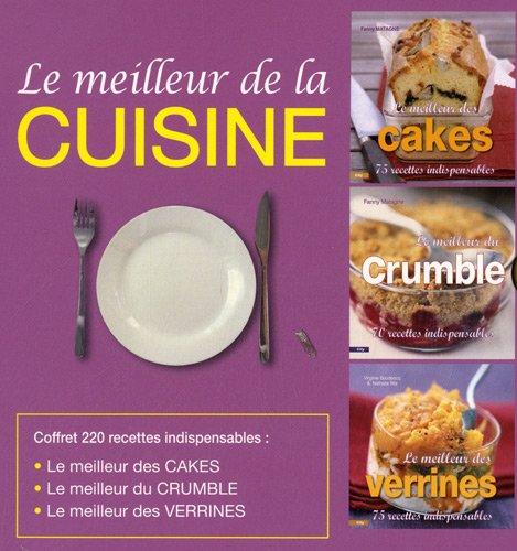 9782352883593: Le meilleur de la cuisine, coffret en 3 volumes (French Edition)