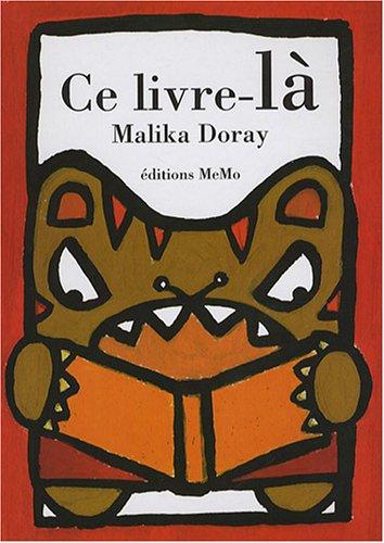 Ce livre la: Malika Doray