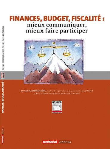 9782352958192: Finances, budget, fiscalité (French Edition)