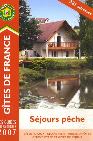 9782353200016: Guide national des s�jours p�che 2007