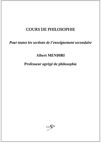 9782353211159: Cours de Philosophie