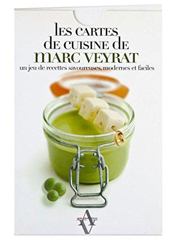 9782353260225: Les cartes de cuisine de Marc Veyrat, Tome 1 : Les basiques : Un jeu de recettes savoureuses, modernes et faciles