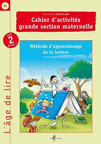 CAHIER ACTIVITES GRANDE SECTION MATERNEL: CASTELLANI P M