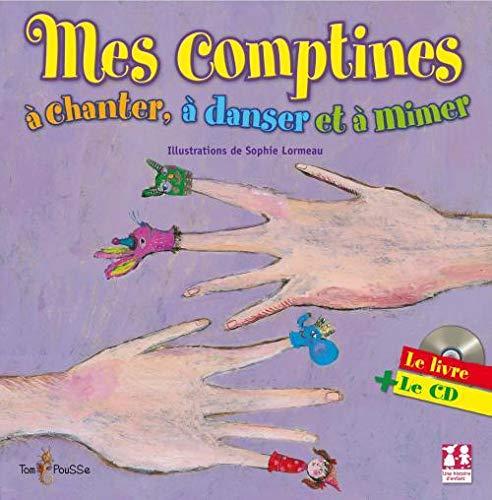 9782353450459: Mes comptines à chanter, à danser et à mimer (1CD audio)