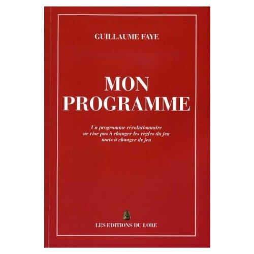 9782353520305: Mon programme