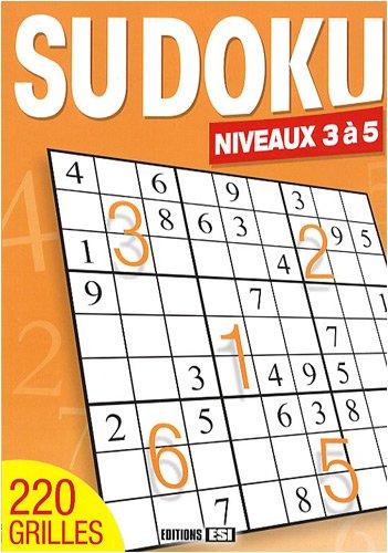 9782353551514: Sudoku : Niveaux 3 à 5