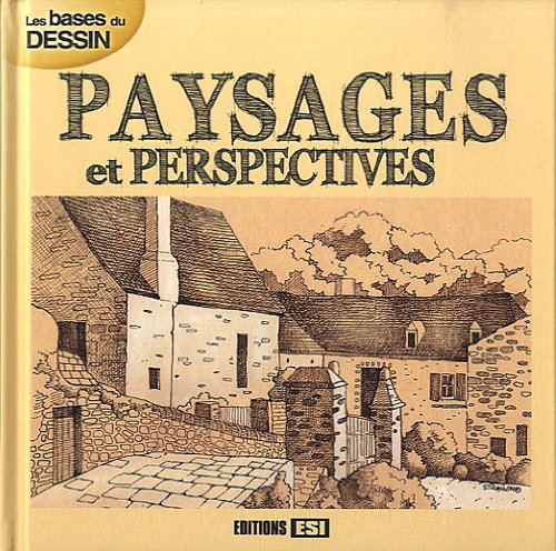 9782353554171: les bases du dessin ; paysages et perspectives