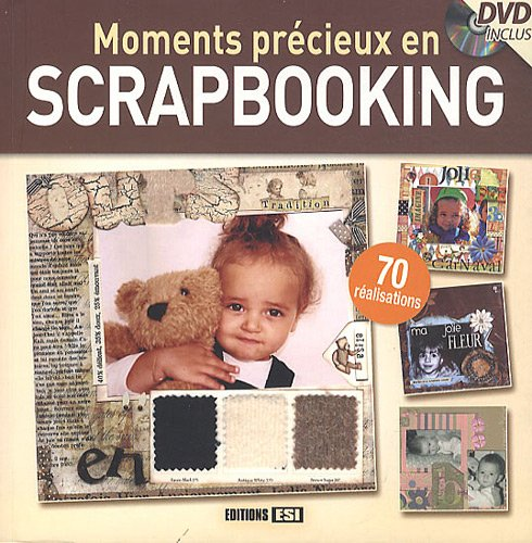9782353554683: Moments précieux en scrapbooking (1DVD) (French Edition)