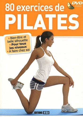 9782353559091: 80 exercices de Pilates (1DVD)