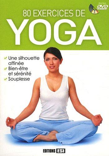 9782353559114: 80 exercices de yoga (1DVD)