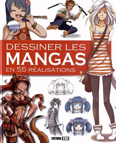 9782353559497: Dessiner les mangas en 55 r�alisations