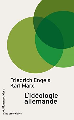 9782353670086: L'idéologie allemande (Les essentielles)