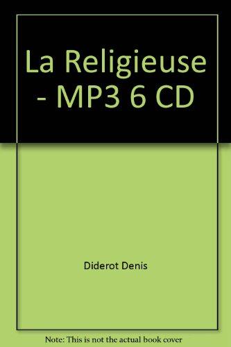 La Religieuse - Mp3 6 Cd (LIVRE LU) (9782353830459) by DIDEROT DENIS