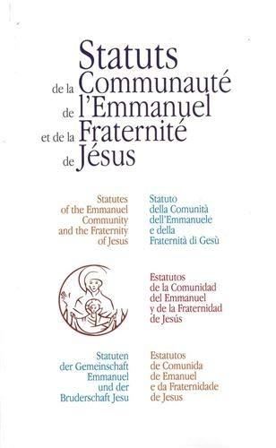 9782353891122: Les Nouveaux Statuts de la Communaute de l'Emmanuel et de la Fraternite de Jesus