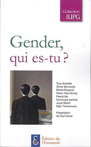 9782353891771: Gender, qui es-tu ?