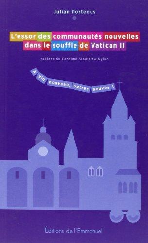 9782353892020: L'essor des communautés nouvelles dans le souffle de Vatican II