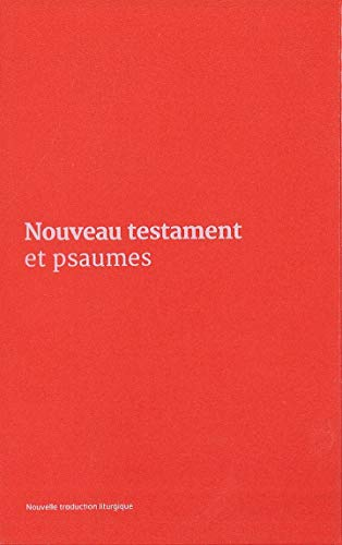 9782353894482: Nouveau Testament et Psaumes : Couverture vinyle rose