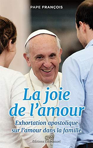 9782353895175: La joie de l'amour : Exhortation apostolique sur l'amour dans la famille