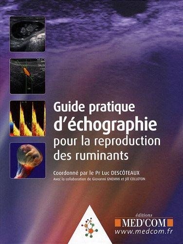 9782354030285: guide pratique d'échographie pour la reproduction des ruminants