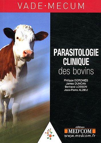 vademecum de parasitologie clinique des bovins