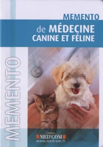 9782354031077: Mémento de médecine canine et féline