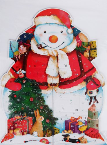 9782354130336: Calendrier de l Avent Bonhomme Pere Noël 3D - Devos