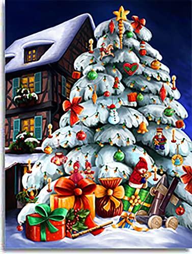 9782354130640: Calendrier de l Avent Noël Blanc - Evangelisti