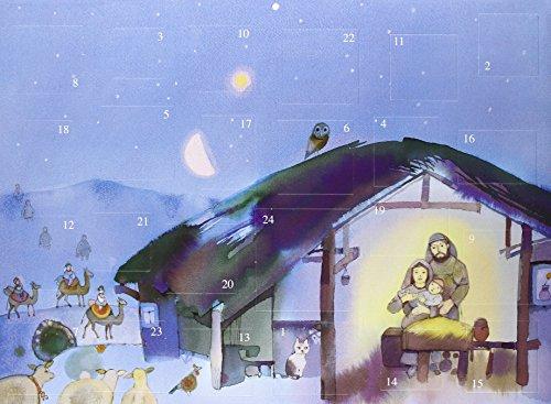 9782354131685: Calendrier de l'Avent Creche de Noël Gantschev