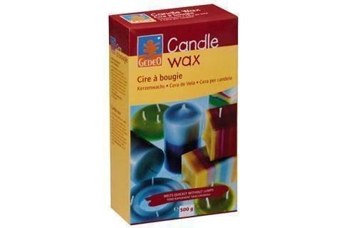 9782354200367: Bougies En Gel Cristal - Cire À Bougie Gedeo 500g - Mélange Prêt À L'emploi De Paraffine Et Stéarine