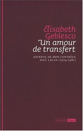 Un amour de transfert (French Edition): Branko Aleksic