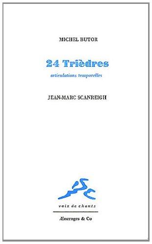 9782354390402: 24 Tri�dres : Articulations temporelles