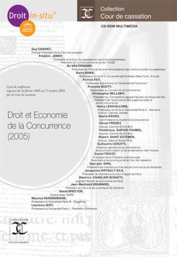 9782354410322: Droit et Economie de la Concurrence - 2005