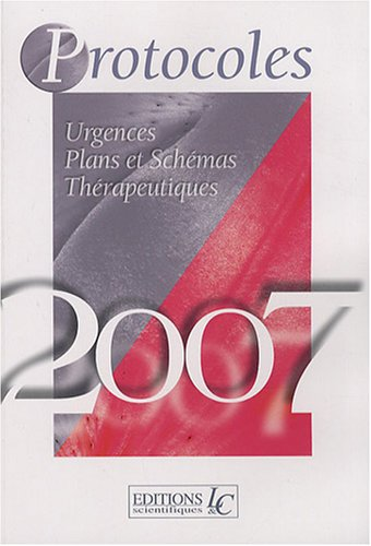 9782354470081: Protocoles & Surveillances 2007 (1C�d�rom)
