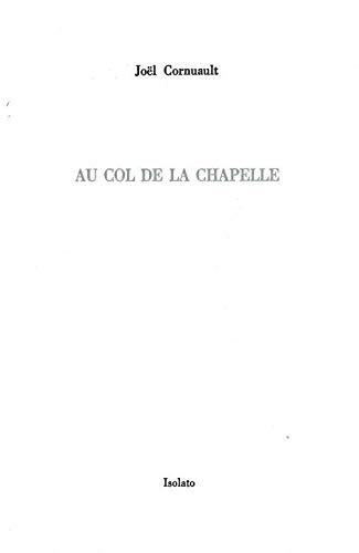 9782354480400: Au col de La Chapelle (dix-huitième arrondissement)