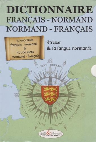 9782354580186: Dictionnaire français-normand et normand-français : Trésor de la langue normande