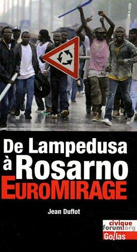 9782354721398: de Lampedusa à Rosarno : euromirage