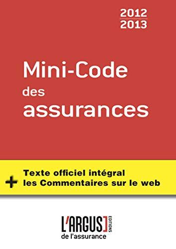 9782354741327: mini-code des assurances - 1ere edition
