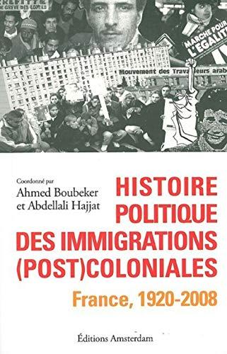 9782354800239: Histoire politique des immigrations (post)coloniales (French Edition)