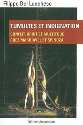 9782354800666: Tumultes et indignation : Conflit, droit et multitude chez Machiavel et Spinoza