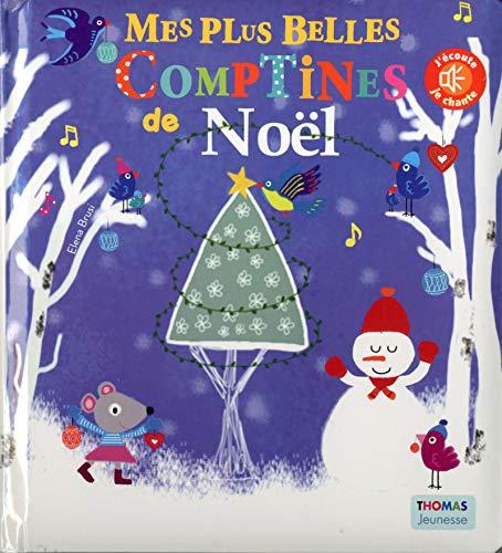 9782354812447: Mes plus belles comptines de Noël