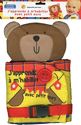 9782354812515: J'apprends à m'habiller avec petit ours