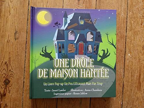 9782354813062: Une drôle de maison hantée : Un livre pop-up effrayant mais pas trop