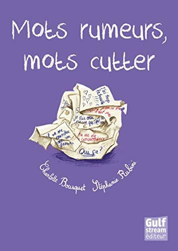 9782354882365: Mots rumeurs, mots cutter