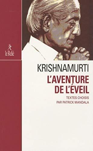 9782354900366: L'aventure de l'éveil : Abécédaire de sagesse selon Jiddu Krishnamurti