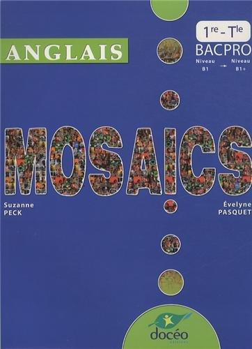 9782354970949: Anglais Mosaics 1e et Tle bac pro