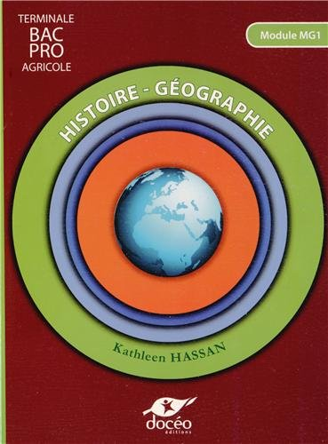 9782354970956: histoire geographie - terminale bac pro mg1 - manuel
