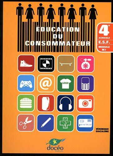 9782354971007: education du consommateur - 4eme m7 - manuel + td